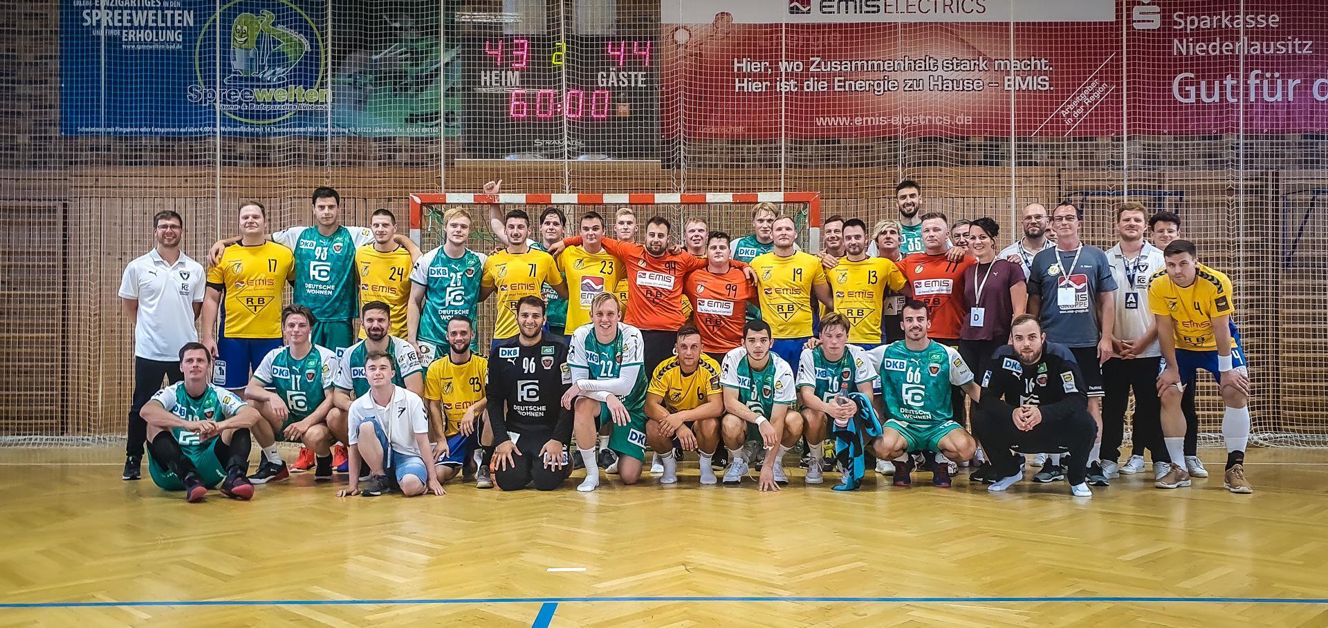 Bundesligist Füchse Berlin zum Freundschaftsspiel in Lübbenau