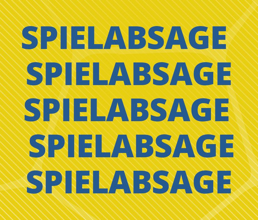 Spielabsage Ostsee-Spree-Oberliga