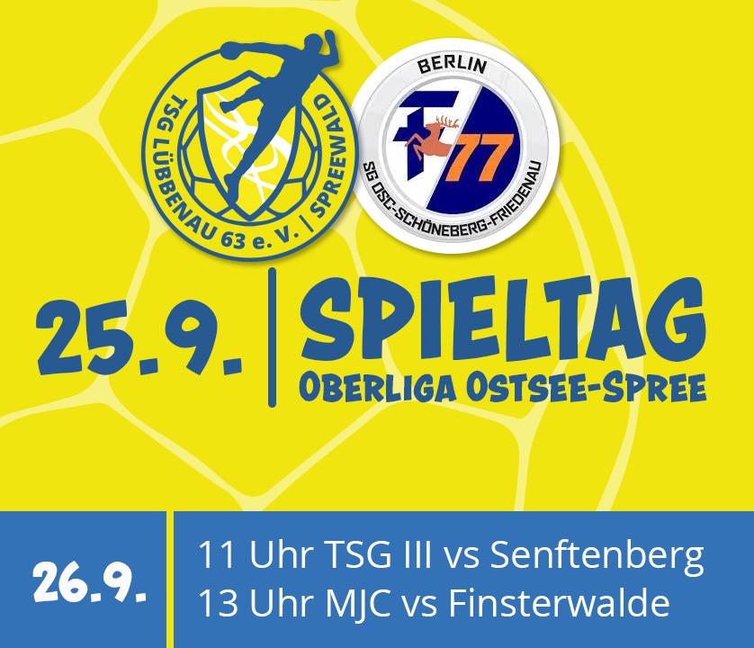 Handball Vorschau für den 25.9.21